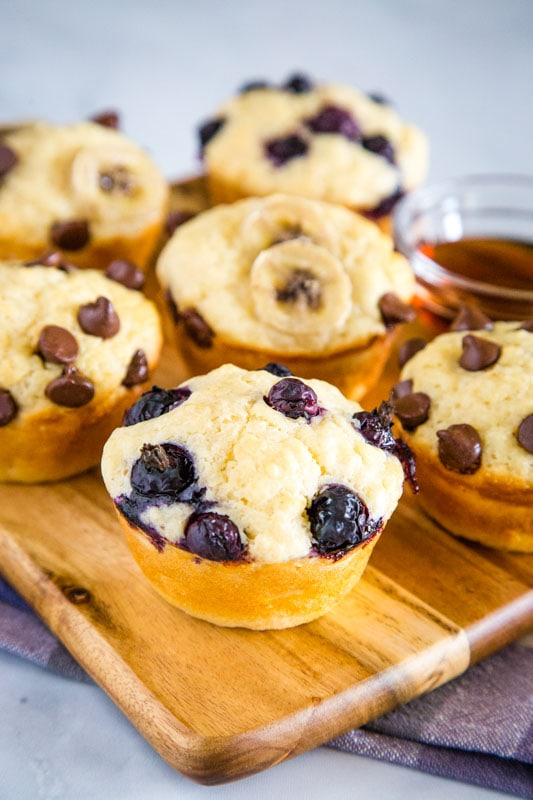 Homemade Pancake Muffins are a great quick and easy breakfast for the whole family