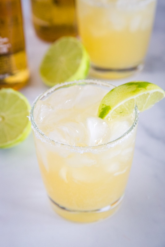Just 3 ingredients is all you need to make these beergaritas