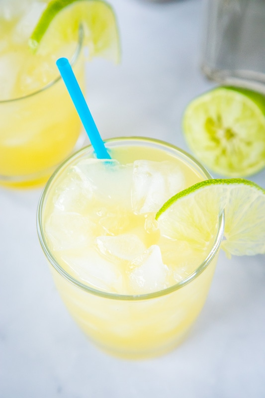 Pineapple Margaritas are a fun twist on a classic!