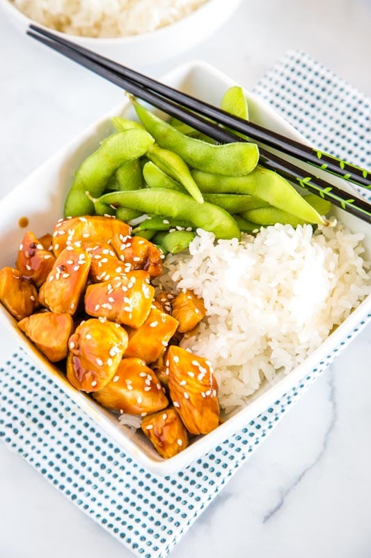 Chicken teriyaki makes for such an easy dinner