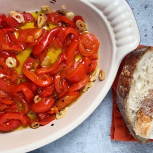 roasted red pepper tapas