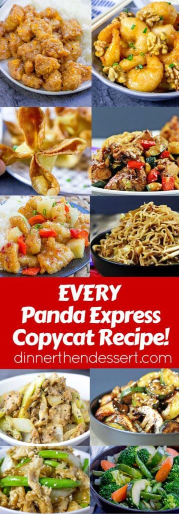 Panda Express Recipes Index Copycat Dinner Then Dessert
