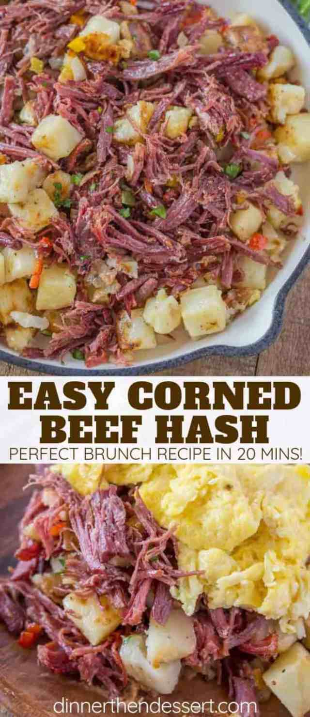 Corned Beef Hash - Dinner, then Dessert
