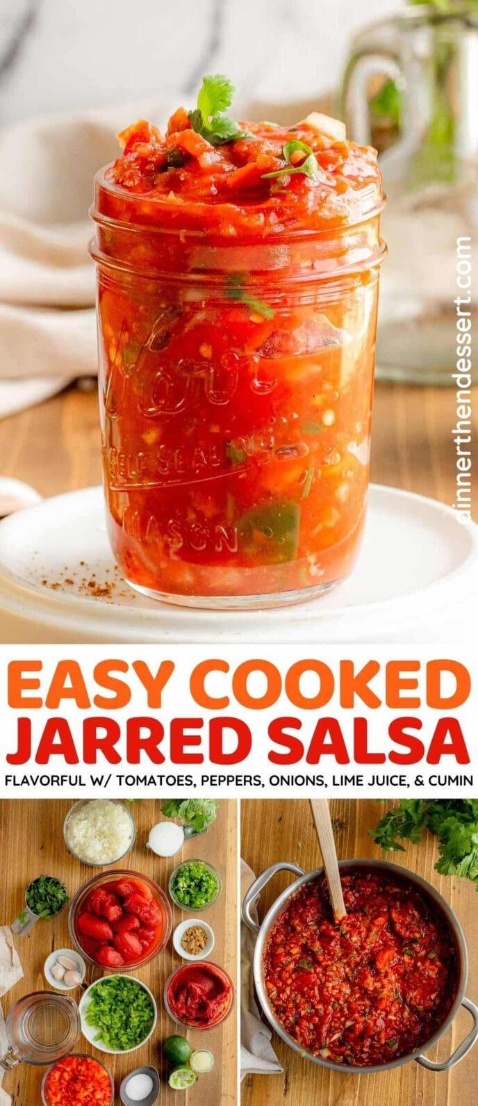 Easy Jarred Salsa recipe