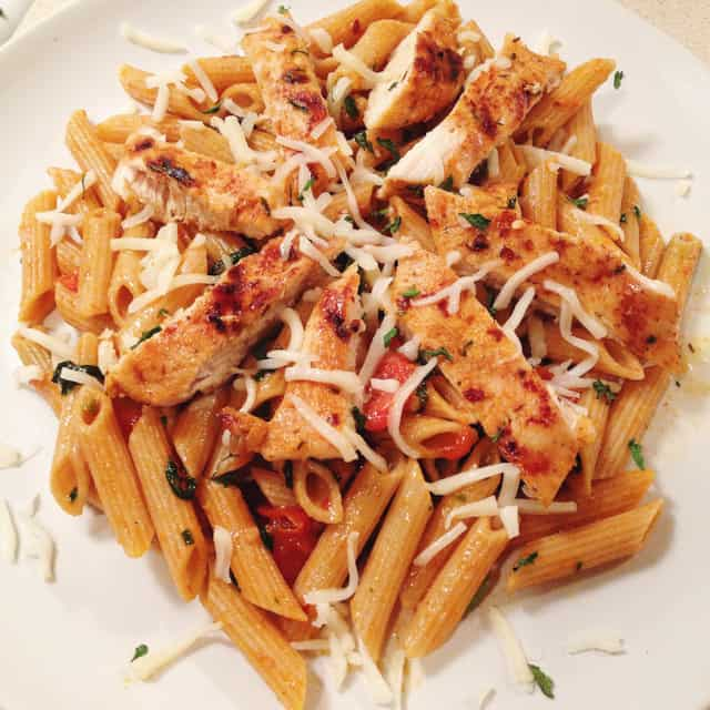 Cajun Chicken Penne Pasta