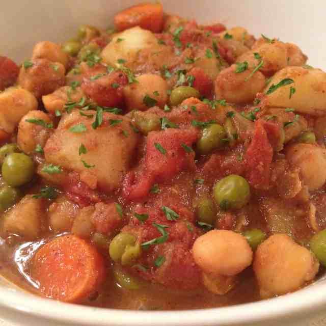 Spicy Vegan Potato Dish