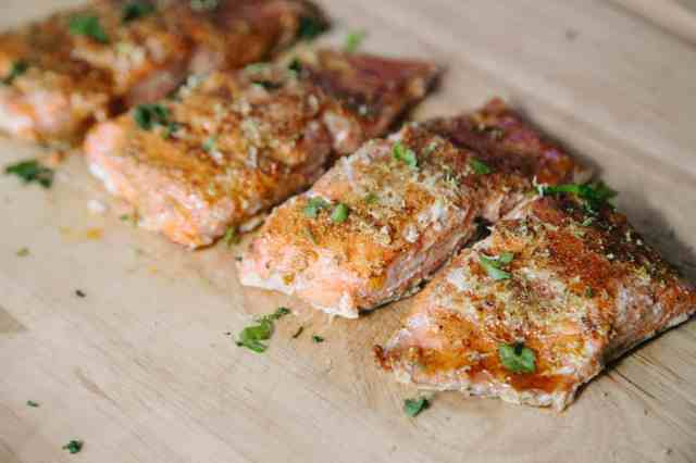 Baked Smokey Chipotle Lime Salmon