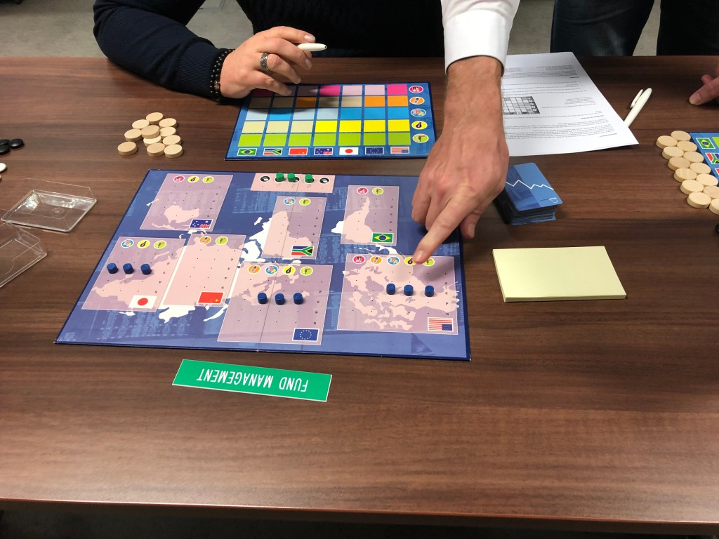 Business game The Wall Street Shuffle (change management)