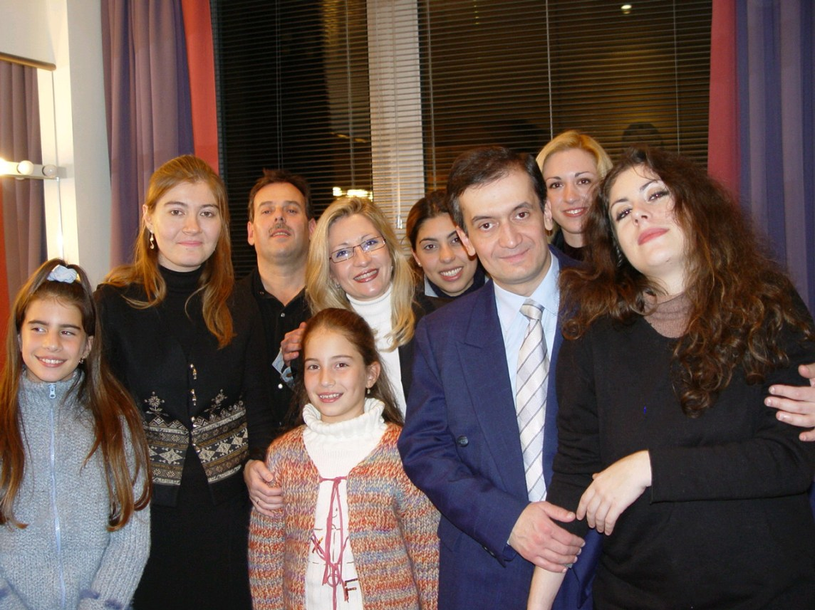 after my performance at the Bridgewater Hall in Manchsester UK, together with students and friends from Greece