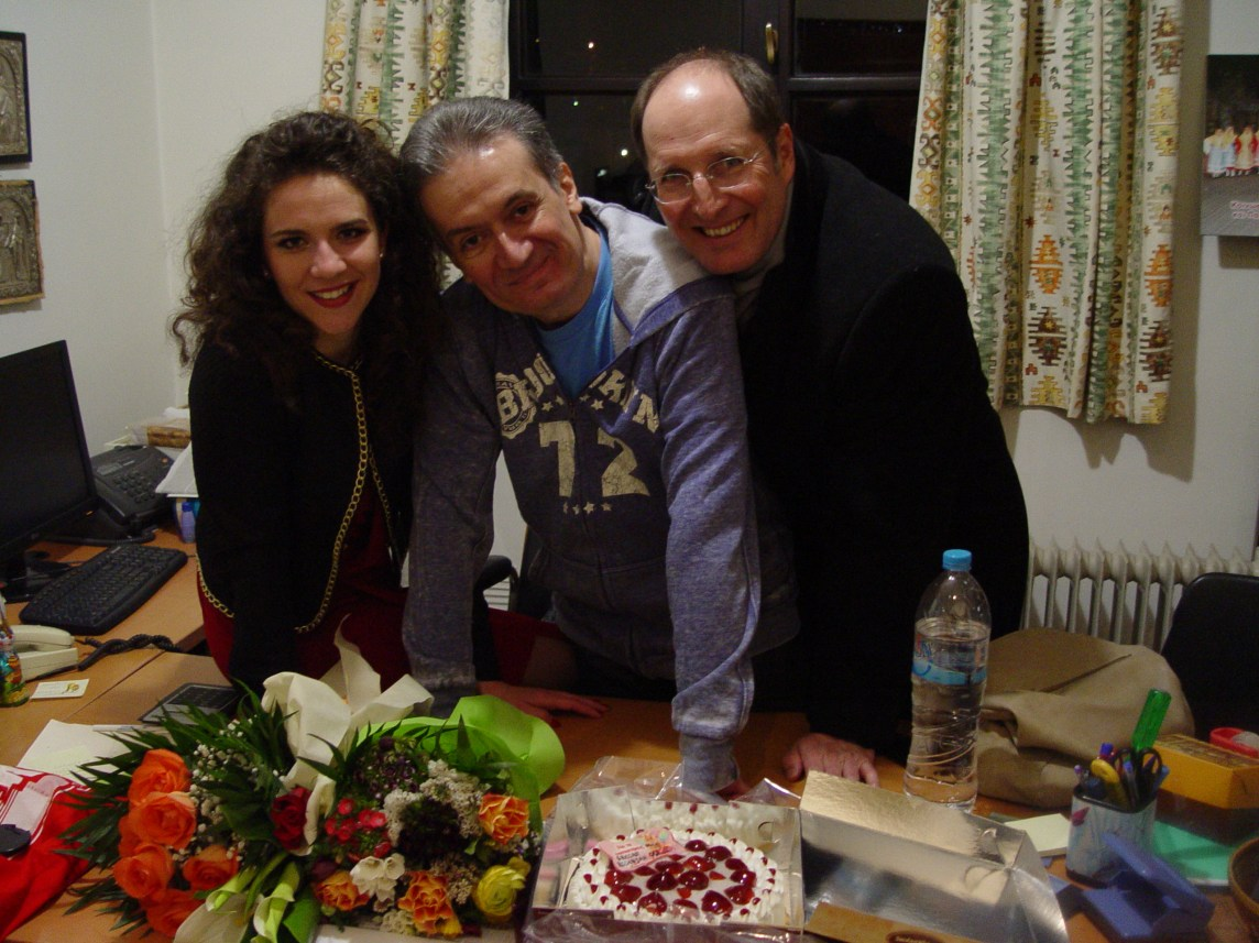 celebrating the birthday of my friend-Montenegrin soprano Olivera Ticevic