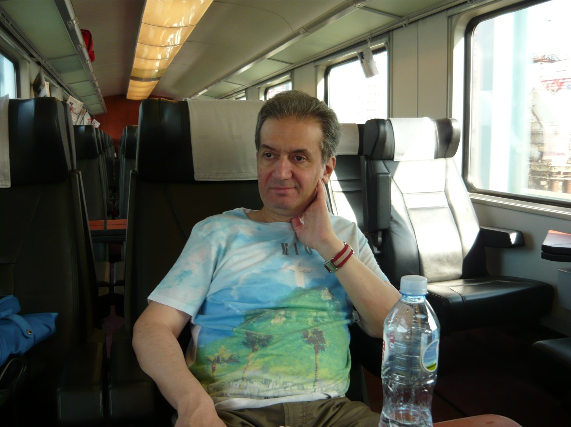 travelling by train from Belgrade to Vienna
