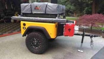 Jeep Trailer Customer Build by Jason