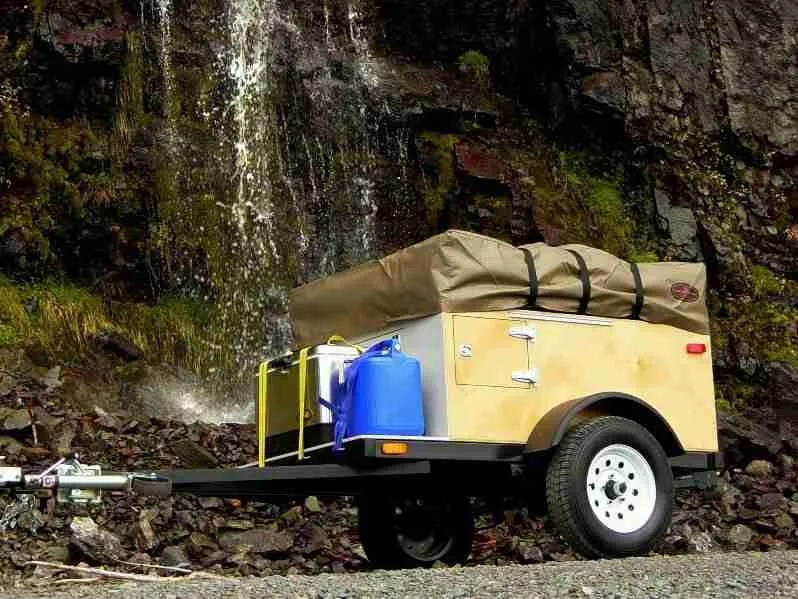 Build at Home Camping Trailer - The Explorer Box