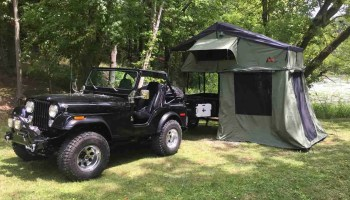Dinoot Jeep Style Trailer First Outing