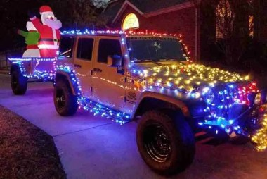 Jeep Trailer by Dinoot Trailer Christmas