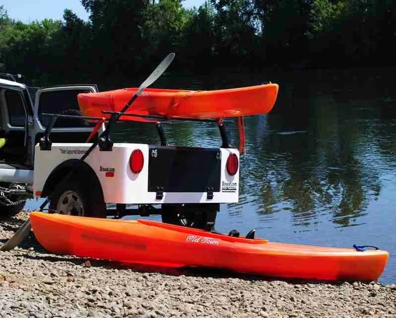 Jeep Kayak Trailer Dinoot Trailers