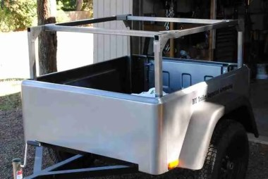 Jeep Trailer Rack No Weld DIY