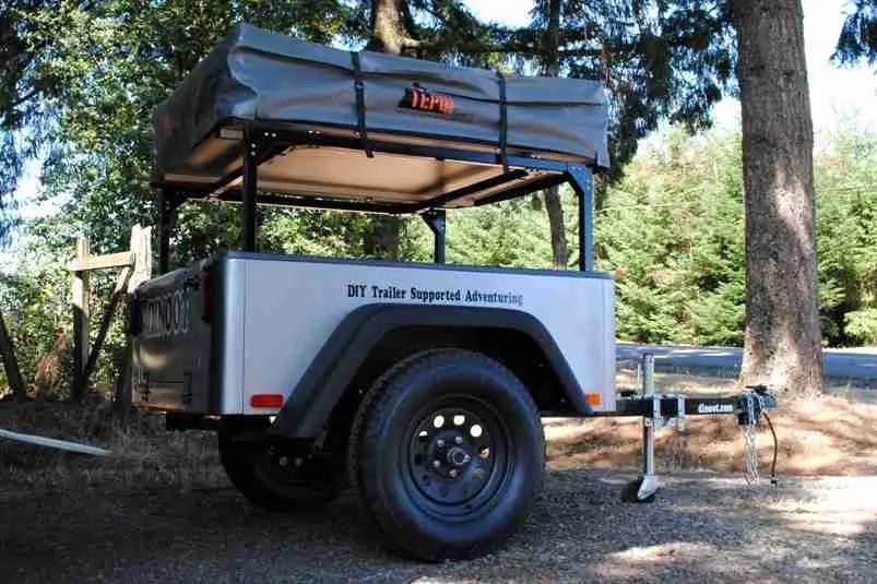 J-Series Jeep Style Trailer