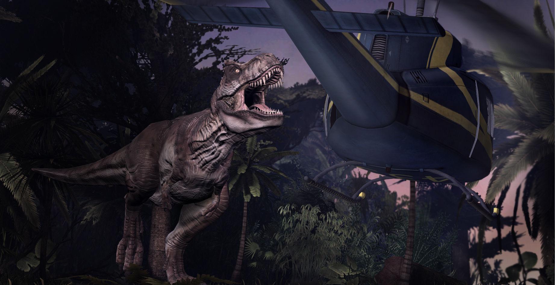 Jurassic Park Dinosaur Cowboys Tabletop Skirmish Game