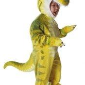 Dino Rex Kostüm Grün L - 1