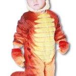 Dino Rex Kostüm Rot S - 1