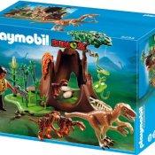 PLAYMOBIL 5233 - Velociraptor-Angriff auf Deinonychusnest - 1