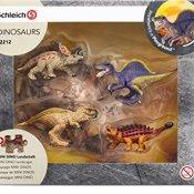 Schleich 42212.0 - Mini Dinos mit Puzzle Lavazone - 1