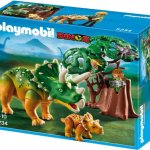 PLAYMOBIL 5234 - Triceratops mit Baby - 1