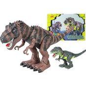 Dinosaurier Figur mit Licht und Sound Tyrannosaurus Rex Dino in 2 Farben 45 cm - 1