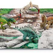 Schleich® Spielfigurenset, »World of History Dinosaurier - Mini Dinos mit Puzzle Entdeckerzone«