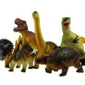 Dinosaurier Dino Figur Tyrannosaurus Rex Triceratops 6 Modelle Groß