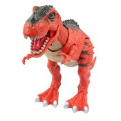 Yier® Elektronisches Spielzeug Rot Tyrannosaurus Rex T-rex Dinosaurier - 1