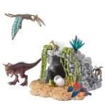 Schleich Urzeittiere – Schleich Dinosaurierset mit Höhle (25x16x31)