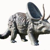 GIGANTISCHER Deko Dinosaurier 'Pentaceratops'