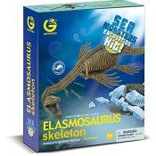 Geoworld 23211374 - Elasmosaurus Seemonster Ausgrabungsset, circa 37 cm