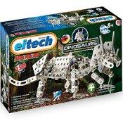 Eitech 00096 - Metallbaukasten Starter-Set - Dinosaurier Trizeratops, 250-teilig