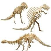 Pebaro 856 - Holzbausatz Dinosaurier-Set