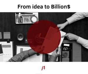 Da ideia ao bilhão