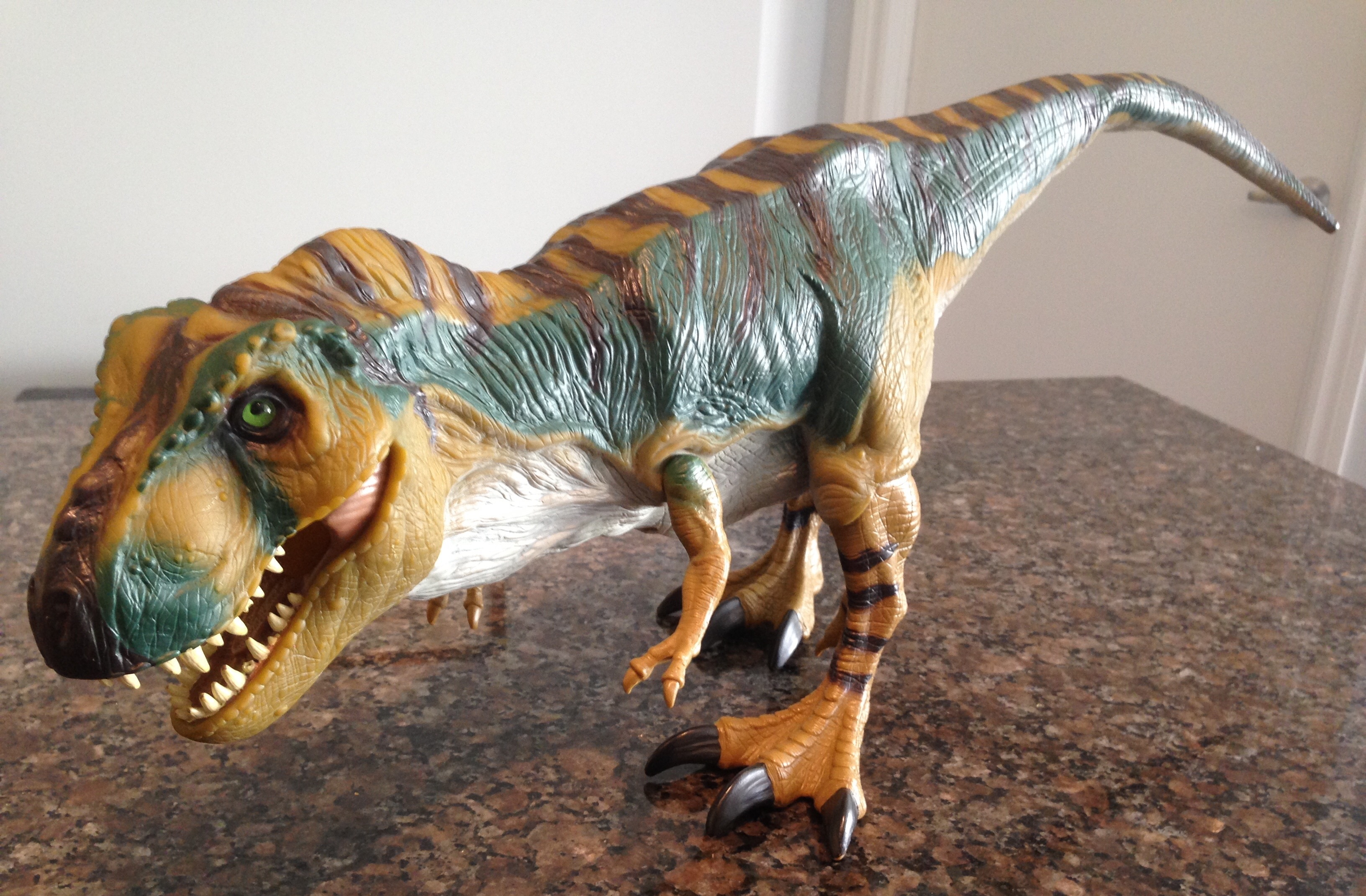 Jurassic Park Toys T Rex : Tyrannosaurus rex bull from the lost world jurassic park