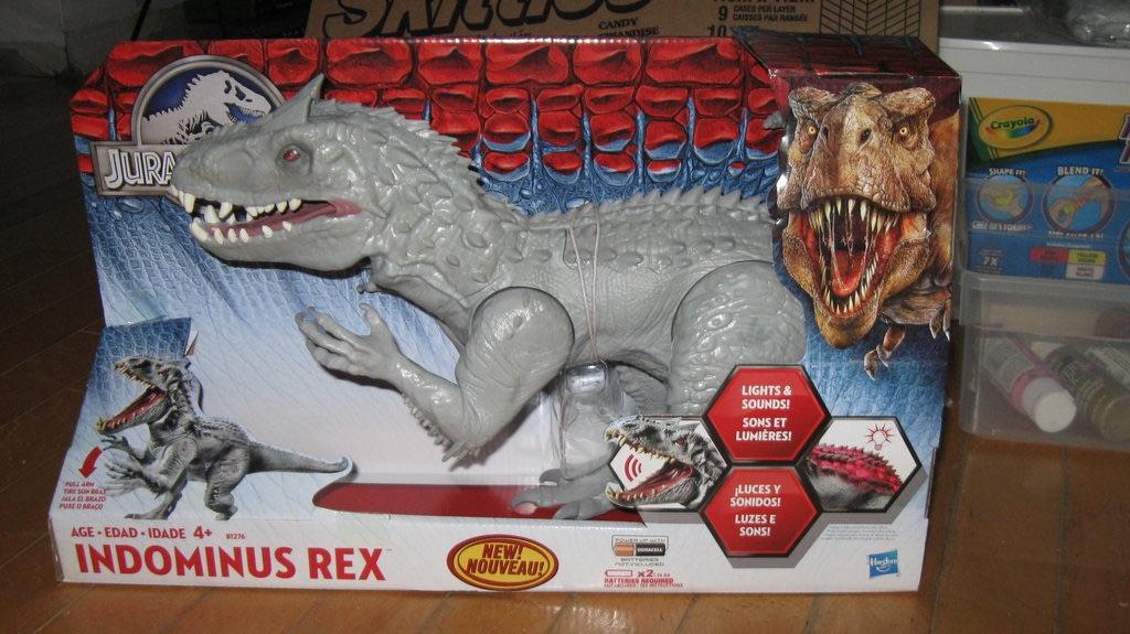 Indominus Rex (Electronic Chomping Version)(Jurassic World