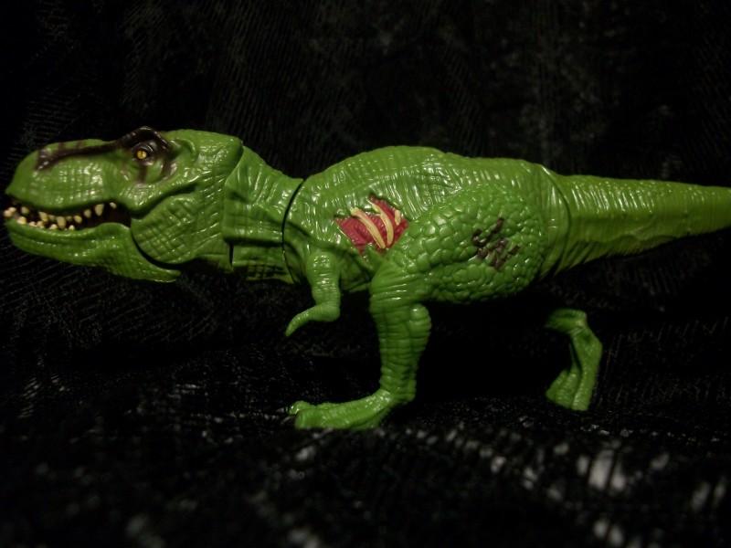 Tyrannosaurus Rex Jurassic World Basher And Biters By Hasbro