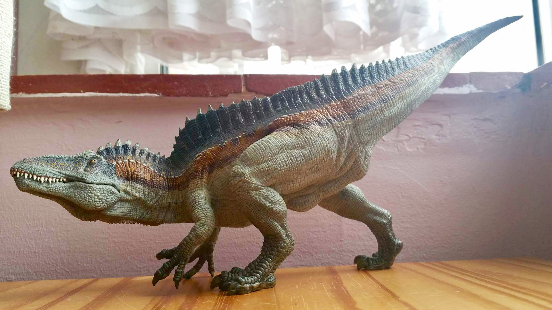 Animals Xiphactinus Prey Mosasaurus Cub Statue Dinosaur ...