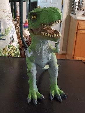 Tyrannosaurus rex (Unknown company, Walmart)     Dinosaur Toy Blog