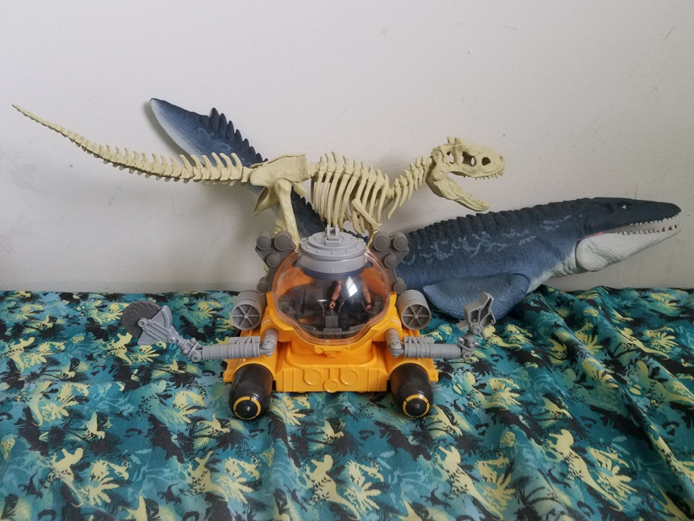 Quest for Indominus Rex Pack (Jurassic World: Fallen Kingdom