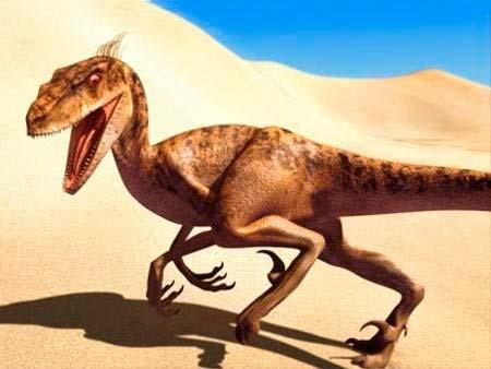 Самые необычные динозавры: дейноних