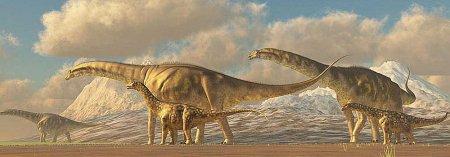 Самый большой динозавр на Земле: Аргентинозавр
