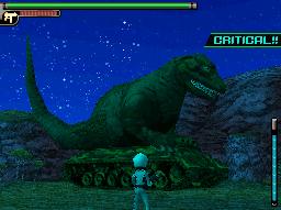 Танк динозавр зеленый камуфляж