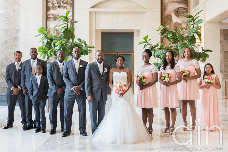 Wedding at the Peachtree Club