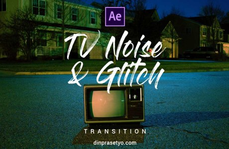 TV Noise & Glitch Transition