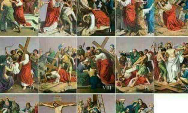 La liturgie du vendredi Saint.